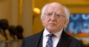 President Higgins signs amendment to Children's Act